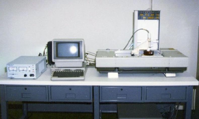 Хамгийн анхны принтер SLA-1 3D, Зохион бүтээгч Чак Халл (Chuck Hall) АНУ - 1986 он