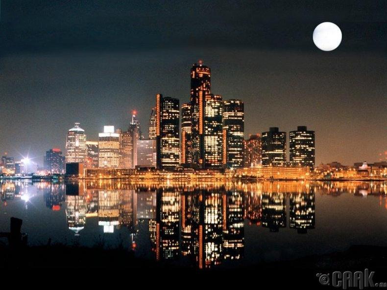 Детройт, АНУ.