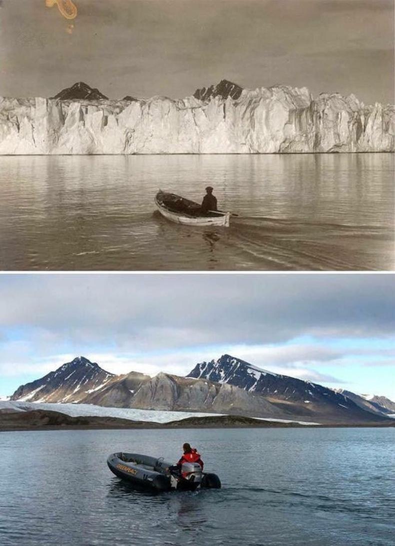 Хойд мөсөн далайн 100 жилийн өмнөх ба өнөөгийн дүр зураг