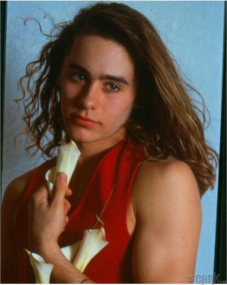 Дуучин, жүжигчин Жаред Лето (Jared Leto) 1989 он