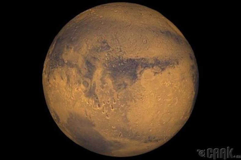 Ангараг хоногт хэдэн цагтай вэ?