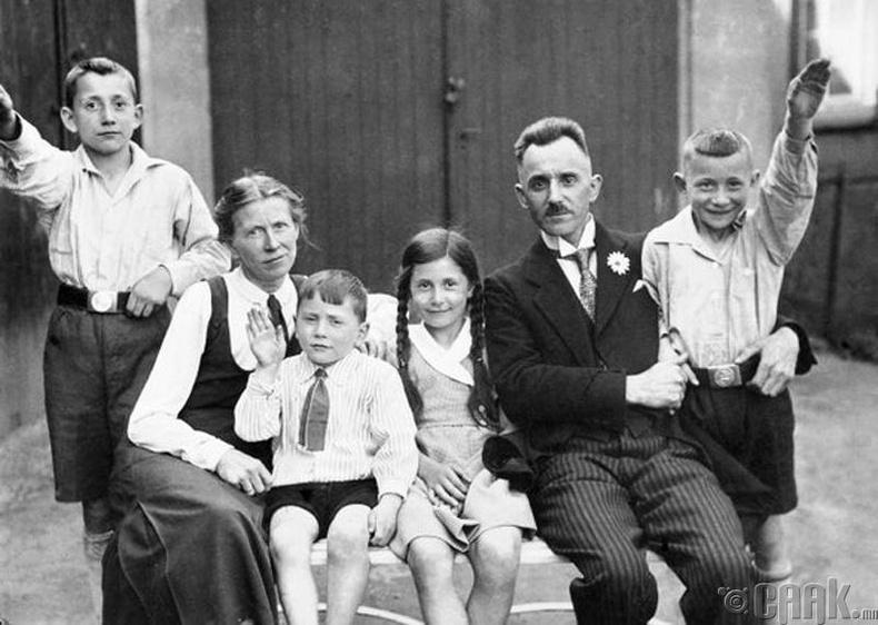 Нацист гэр бүлийн гишүүдийн үүрэг