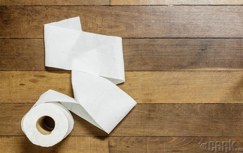 Ариун цэврийн цаас идэх