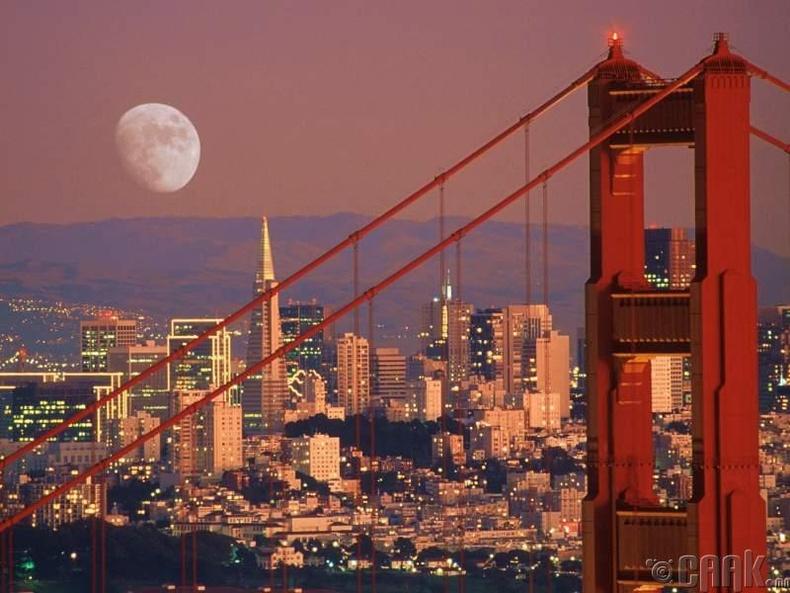 Сан-Франциско, АНУ