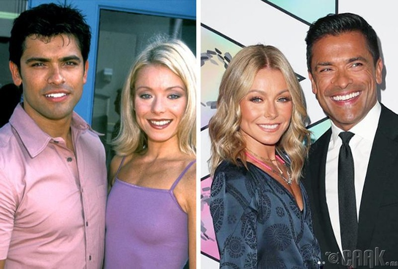 Келли Рипа болон Марк Консуэло (Kelly Ripa, Mark Consuelo)