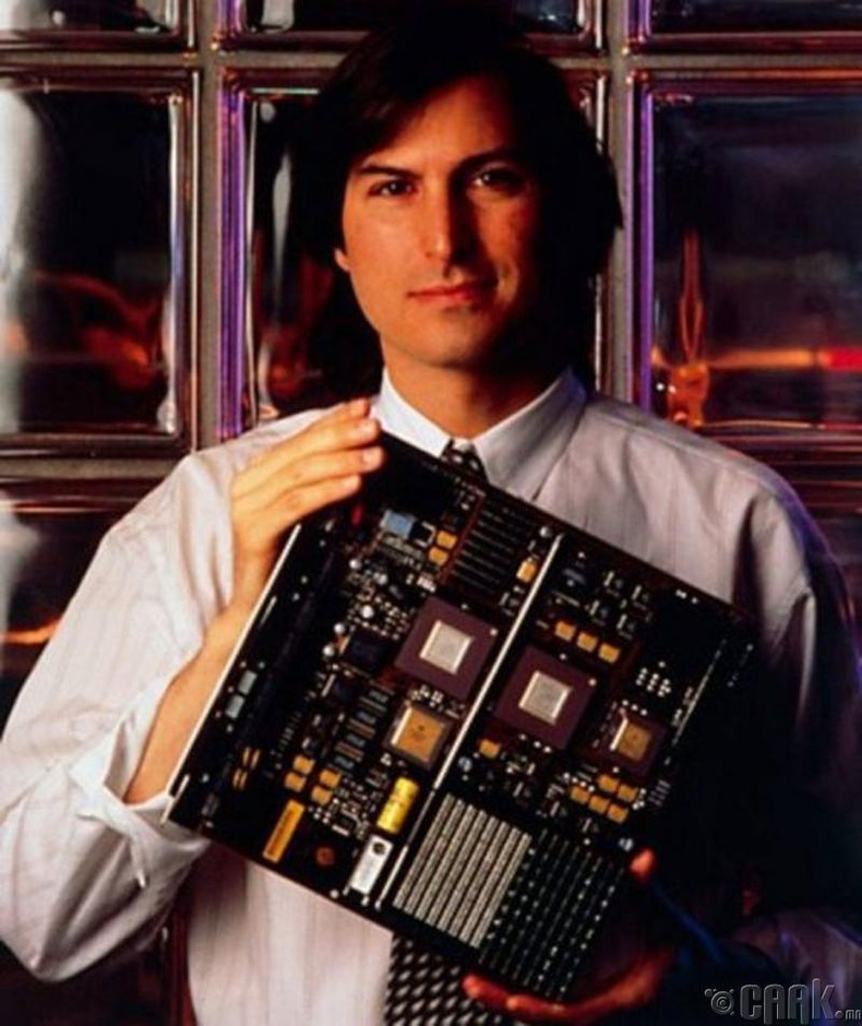 Зохион бүтээгч, бизнесмэн Стив Жобс (Steve Jobs)