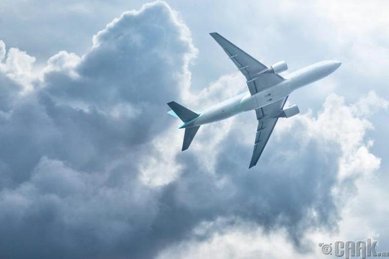 Ямар ч үед Америкийн тэнгэрт 5000 орчим онгоц нисч байдаг