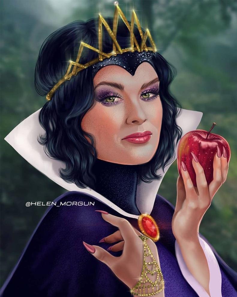 Лена Хеди хатан хааны дүрд (Snow White and The Seven Dwarves)