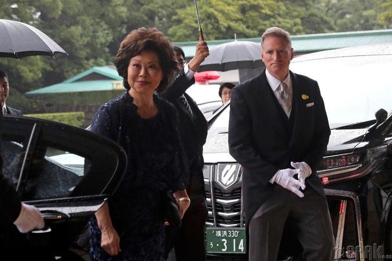 АНУ-ыг төлөөлж Зам тээврийн яамны нарийн бичгийн дарга Элейн Чао хүрэлцэн ирэв