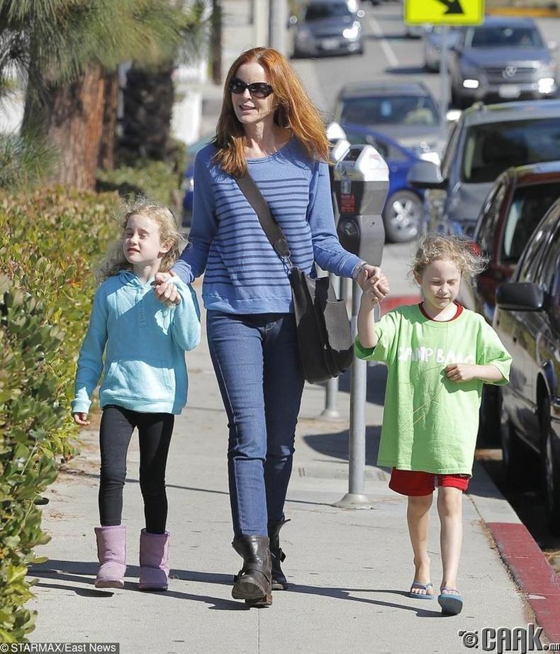 Марсия Кросс (Marcia Cross) 45 насандаа ихэр хүүхдийн ээж болжээ