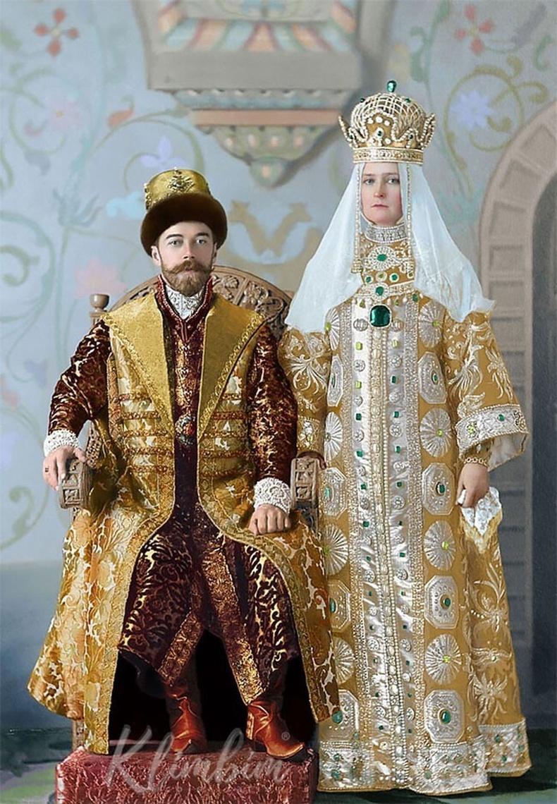 II Николай, Александра Федоровна нар