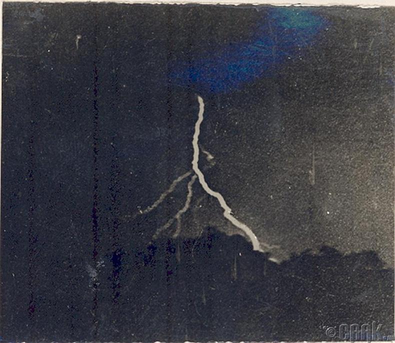 Цахилгааны анхны зураг