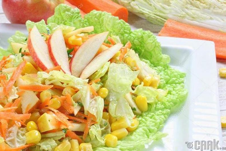 Амттай ногооны салат