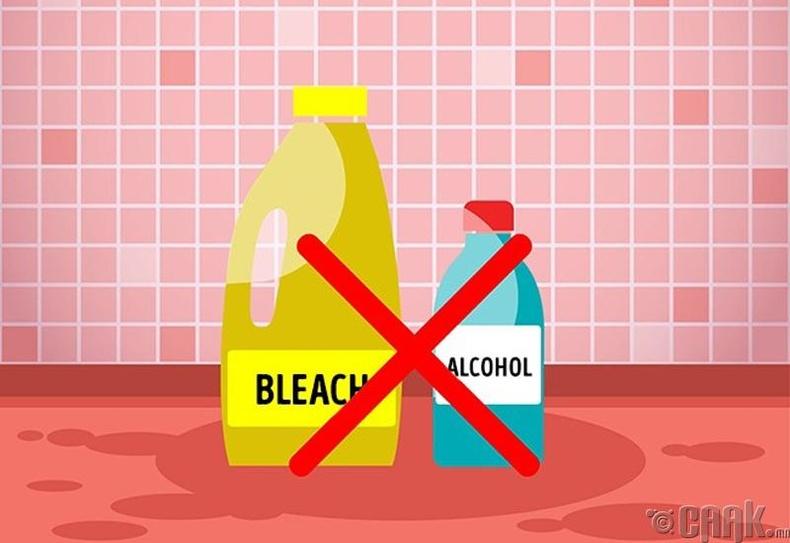 Цайруулагч болон алкохол