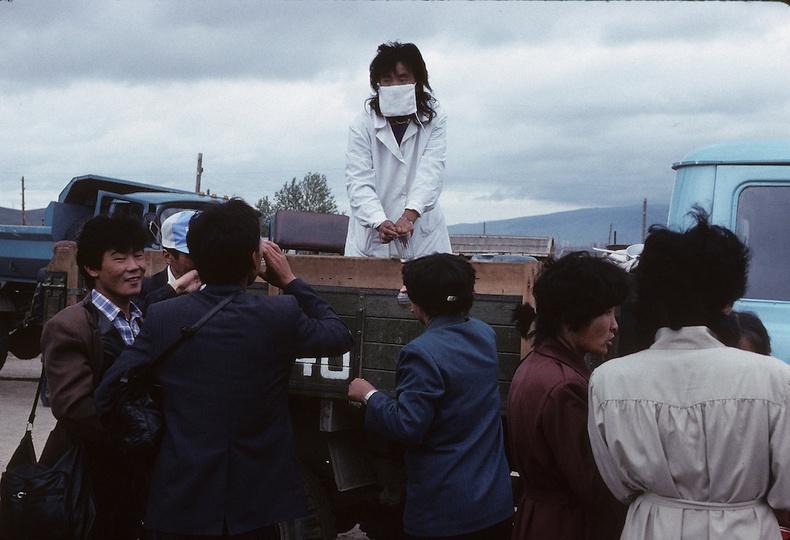 Сувилагч эмэгтэй - Улаанбаатар