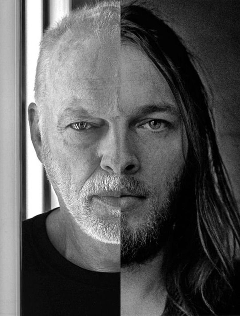 Pink Floyd хамтлагийн гитарчин Дэвид Гилмур өмнө ба одоо