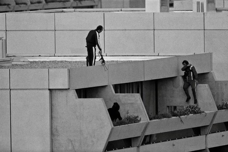 Мюнхений Олимпийн үеэр гарсан террорист халдлага