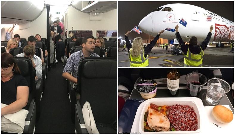 """""""Бойнг 787-9"""" онгоц 4 шөнө явдаг замыг нэг ч зогсолгүй 17 цагийн дотор тууллаа"""