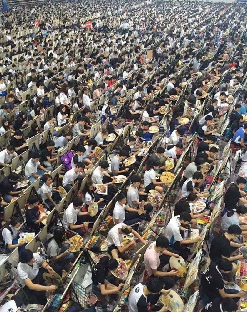 Хятадын урлагийн сургуулийн элсэлтийн шалгалт