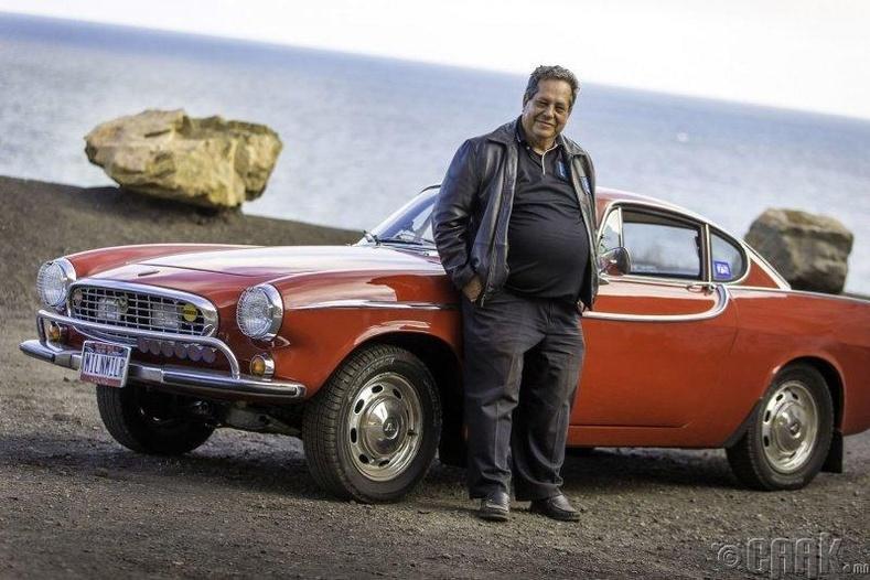 """Ирв Гордон, """"Volvo P1800"""""""