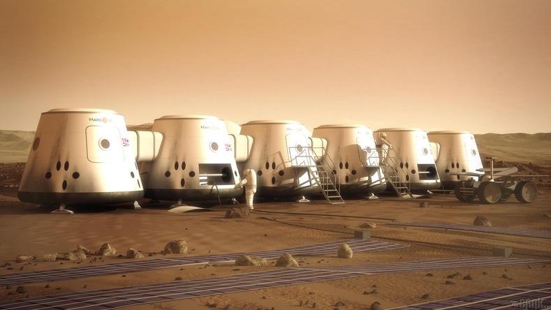 "Вернер фон Брауны ""The Mars Project"" ном"
