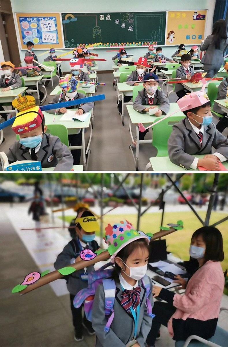 Хятад сурагч нар ингэж нэгнээсээ зайгаа барьдаг