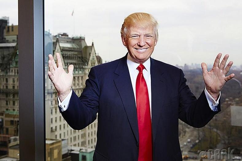 Дональд Трамп (Donald Trump), АНУ-ын Ерөнхийлөгч, бизнесмэн
