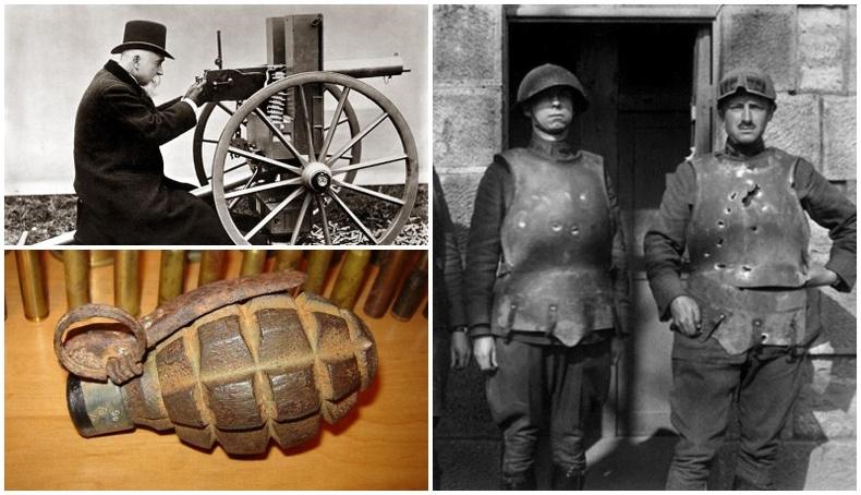 Дэлхийн I дайнд ялахын тулд яахаас ч буцахгүй хүмүүсийн бүтээсэн 5 зэвсэг