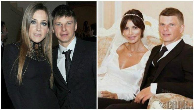 """Хөлбөмбөгчин Андрей Аршавины гэр бүлийг """"Алиса Казьмина"""""""