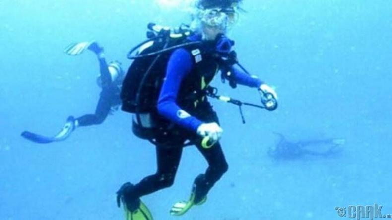 Учир нь үл тайлагдах далайн шумбагч