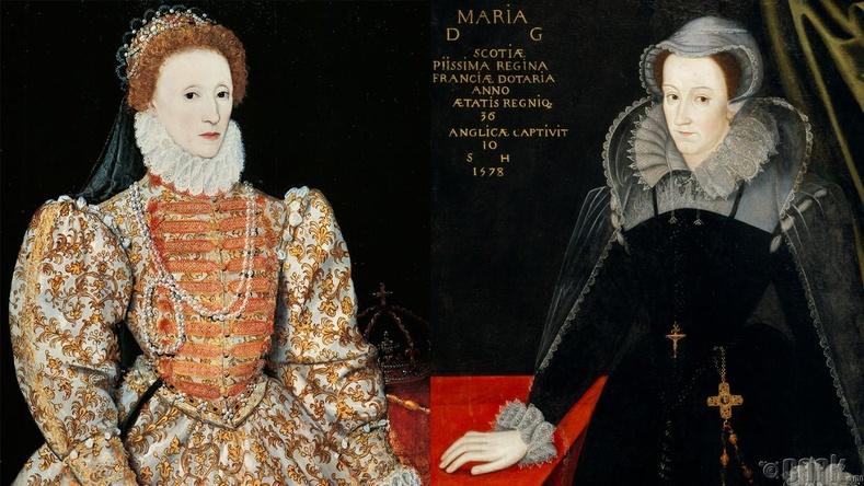 Элизабет I, Мэри I