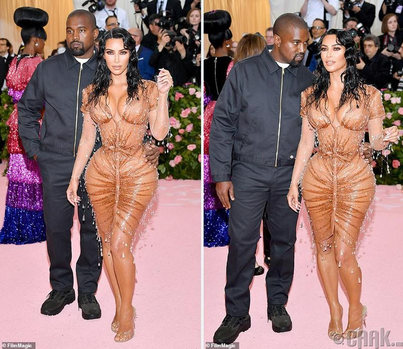 Ким Кардашиан нөхөр Кане Уэст (Kanye West)-ийн хамт