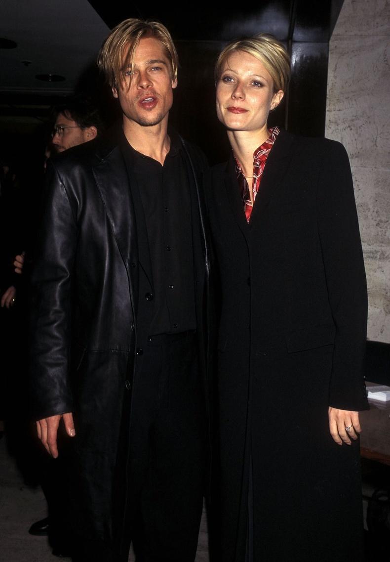 Брэд Питт болон Гвинет Пэлтроу, Нью-Йорк хот, 1997 он.