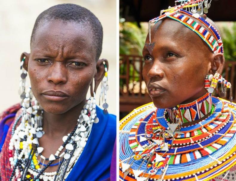 Масаи бүсгүйчүүд (Maasai)