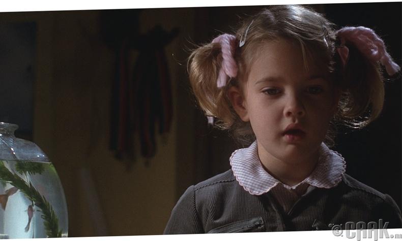 """Дрю Берримор (Drew Barrymore) - """"E.T. The Extra-Terrestrial"""", 1982 он"""