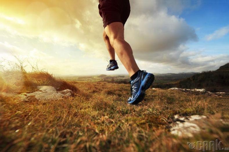Хэрхэн зөв гүйх вэ?