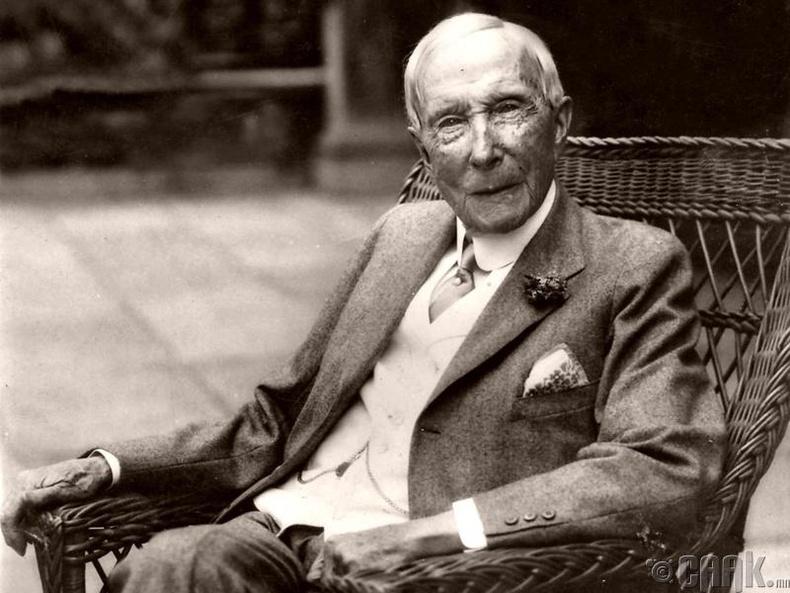 Бага Жон Д. Рокфеллер (John D. Rockefeller, Sr.)