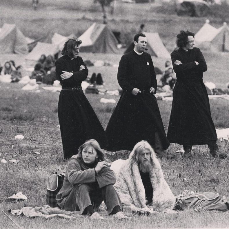 """Лам нар ба хипстерүүд """"Гластонбери"""" хөгжмийн наадмын үеэр - 1971"""
