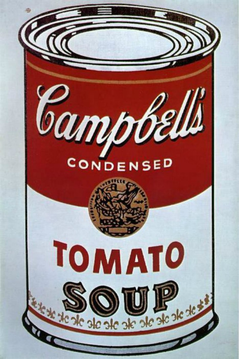"""Campbell's Soup Cans"", Энди Уорхол"