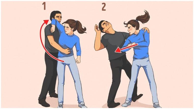 Хүчирхийллээс өөрийгөө хамгаалах 13 арга