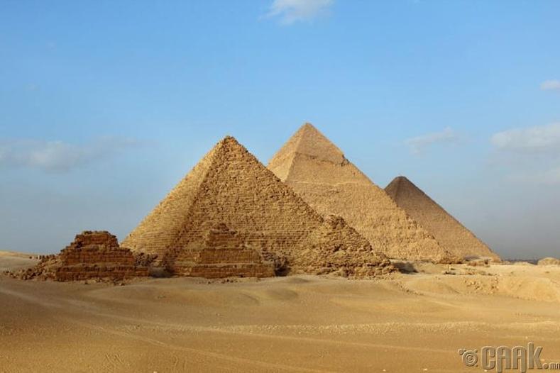 Гизагийн Пирамид, Египет