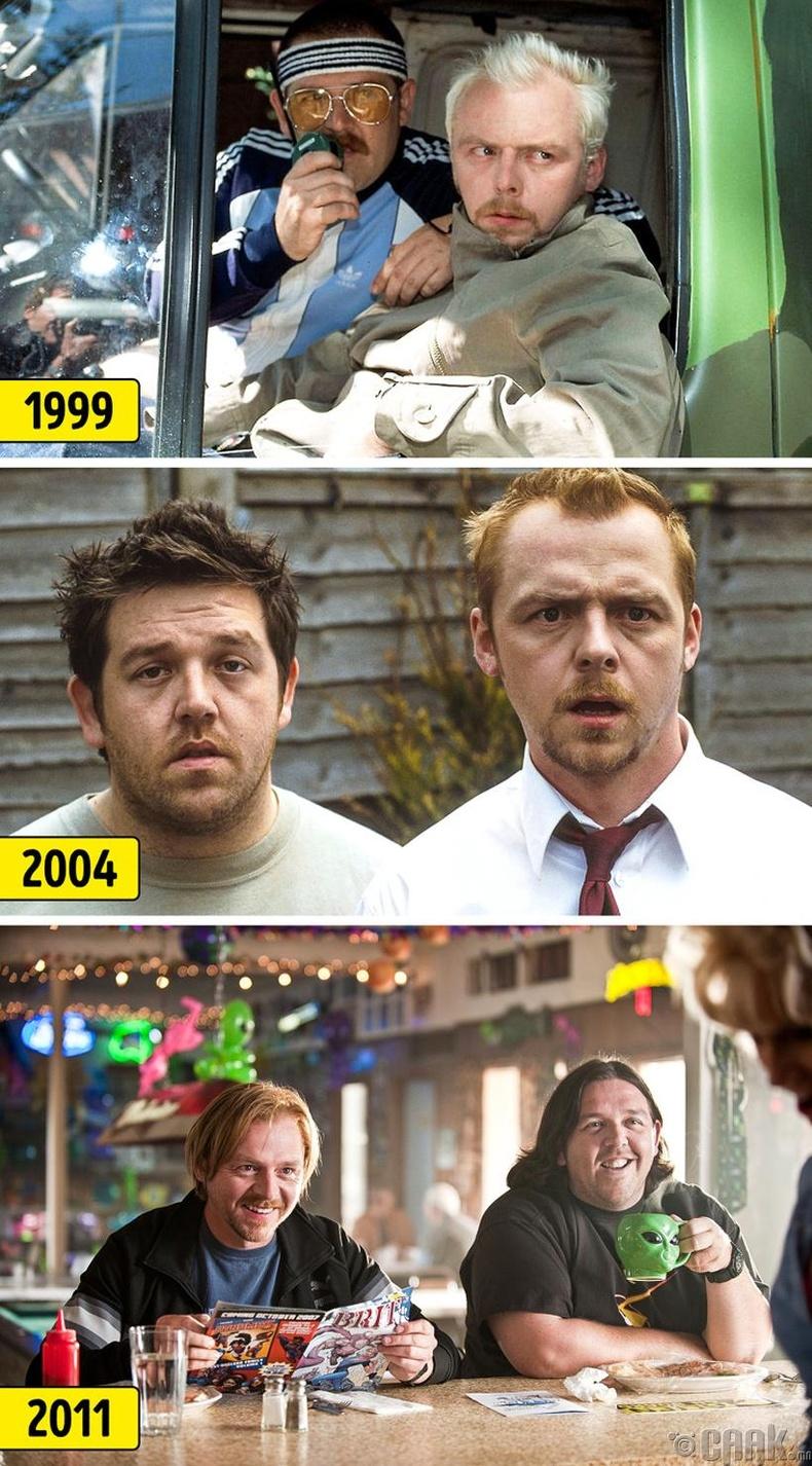 Саймон Пегг болон Ник Прост (Simon Pegg, Nick Frost)