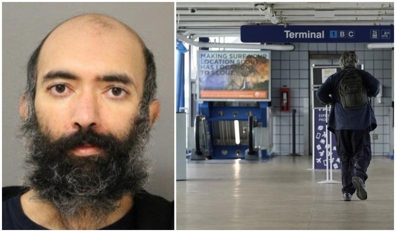 Коронавирусээс айсан эр онгоцны буудал дээр гурван сар нууцаар амьдарчээ