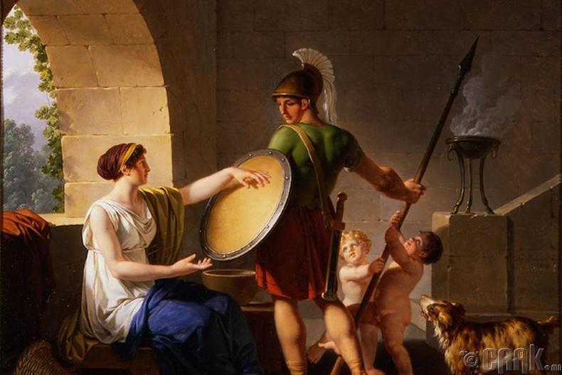 Спарт дахь өв залгамжлал