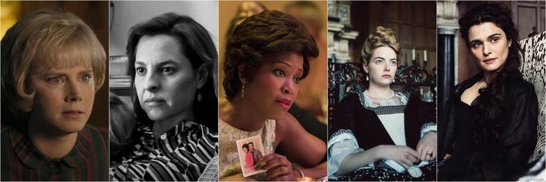 """""""Шилдэг эмэгтэй туслах дүрийн жүжигчин"""" номинацад:"""