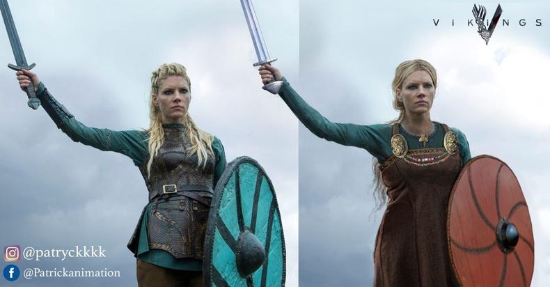 """Лагерта (Lagertha) - """"Vikings"""""""