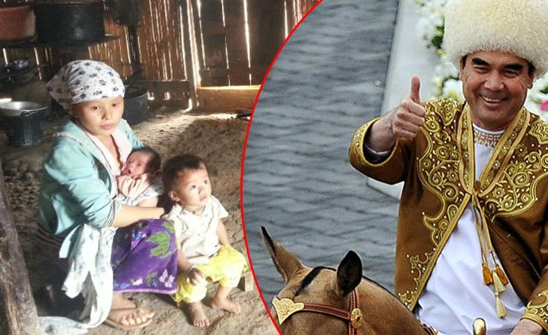 """""""Шинэ Хойд Солонгос"""" болсон Туркменистан улсын иргэдийн амьдрал"""
