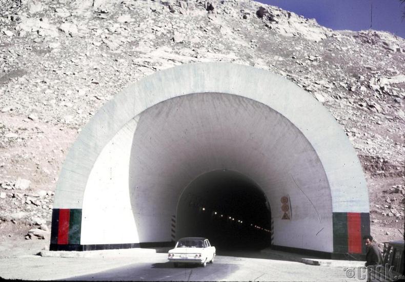"""Зөвлөлтийн байгуулсан, Афганистаны хойд болон өмнөд хэсгийг холбосон """"Salang"""" туннел"""