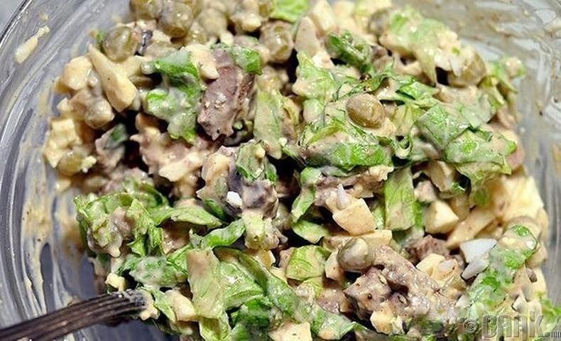 Элэгний салат