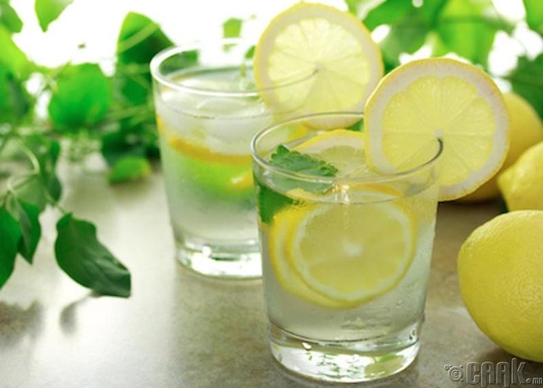 Нимбэгтэй халуун ус уух